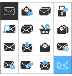 Letter an icon3 vector image vector image