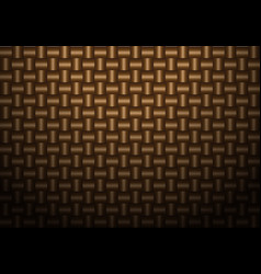 Abstract brown weave texture pattern vector