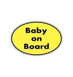 Baon board sticker vector