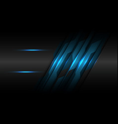 blue black metallic circuit line with blank space vector image