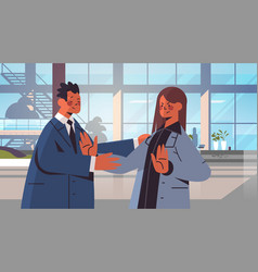 Businessman molesting female employee sexual vector