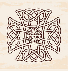 Celtic national ornaments vector