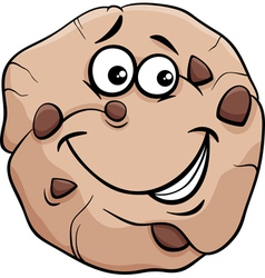 Cookie cartoon vector