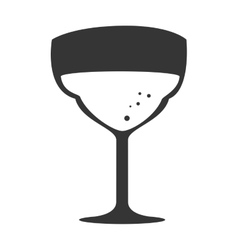 cup glass drink isolated design vector image