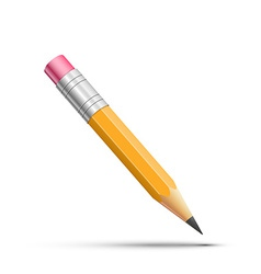Detailed pencil vector image