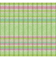 Seamless Pattern Knit Texture vector image