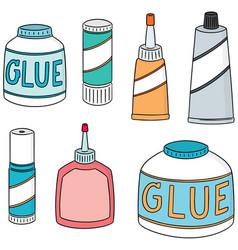 Set of glue vector