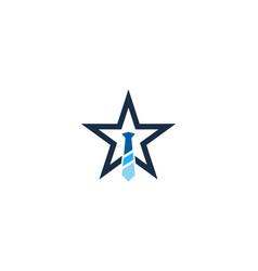 Star job logo icon design vector