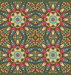 Traditional seamless ornament oriental pattern vector