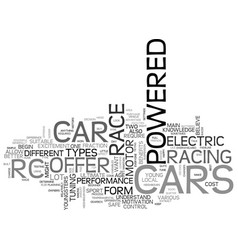 which rc car is right for you text word cloud vector image