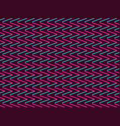 seamless background with zigzags in style of 90s vector image vector image
