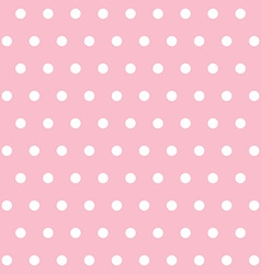 popular pink vintage dots abstract pastel pattern vector image vector image