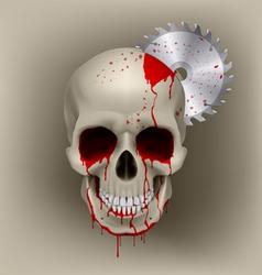 Skull dead vector