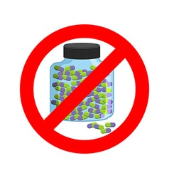 Ban doping It is forbidden to take stimulants vector