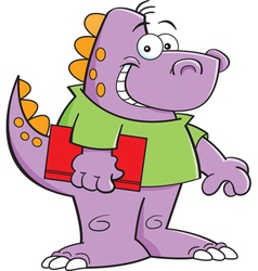 Cartoon Dinosaur Kid vector image
