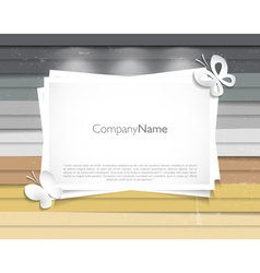 Info background vector image