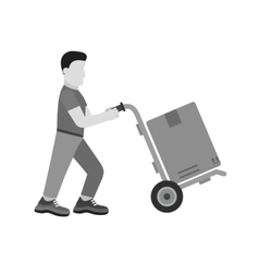 Package Delivered vector