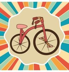 Ride a bike vector