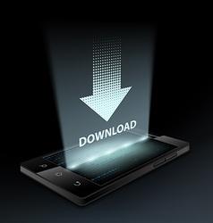 Download icon Hologram vector image vector image