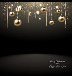 christmas 2018 background vector image vector image