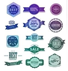 Premium Quality Guarantee vector image