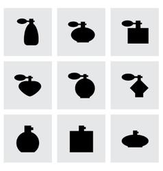 perfume icon set vector image