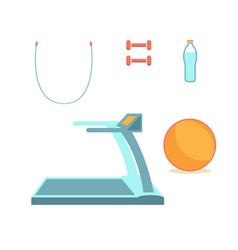 symbols flat design icons set infographics vector image