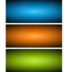 Bright banners vector image