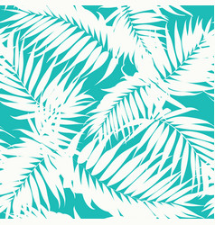 tropical camouflage pattern jungle tree leaves vector image vector image