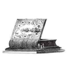 Bible vintage vector