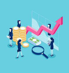 financial administration business finance and vector image