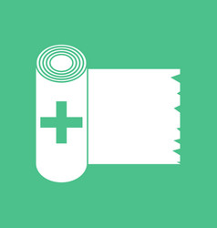 Icon medicine napkins vector