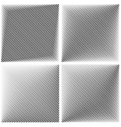 set patterns diagonal stripe line vector image