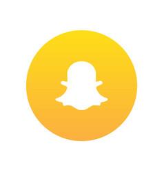 Snapchat icon vector
