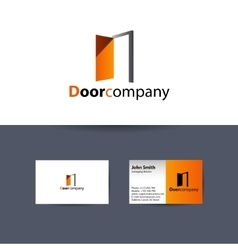 The door company logo vector