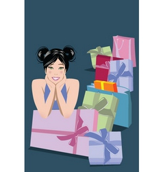 mom gifts vector image
