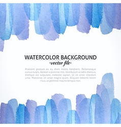 Watercolor Blue and Purple Abstract Background vector image vector image