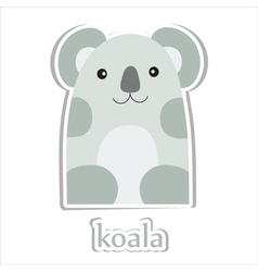 Cartoon koala vector