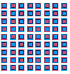 abstract overlap square pattern background vector image
