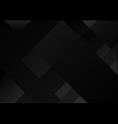 black abstract grid background vector image
