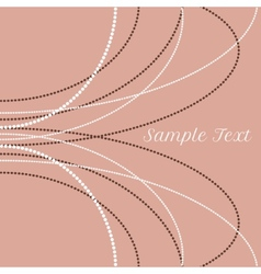 delicate pearl beads for backgrounds cards vector image