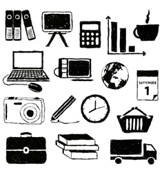 doodle business pictures vector image