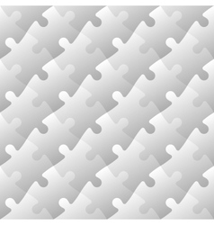 Jigsaw puzzle mosaic seamless background vector image