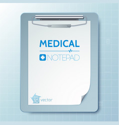 Medical tool template vector