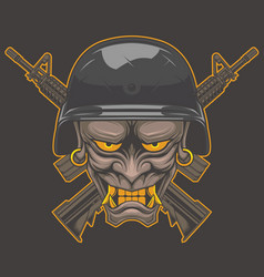 Oni x military vector