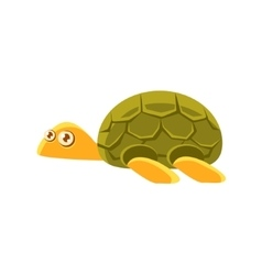 Turtle Toy Exotic Animal Drawing vector image