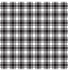 Black white check texture seamless pattern vector image vector image
