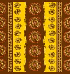 Aboriginal pattern vector