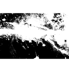 Black and white marbled texture Grunge vector image