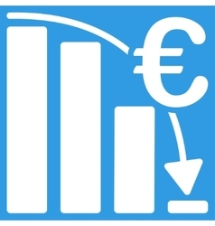 Euro Epic Fail Crisis Icon vector